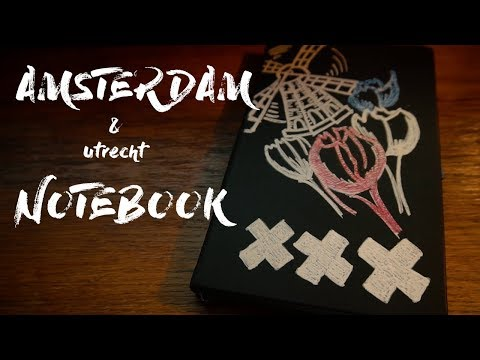 Amsterdam & Utrecht Notebook | Mega vlog