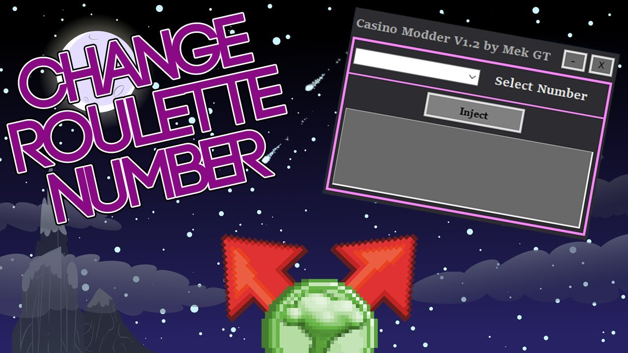 Growtopia  Casino Modder V1.2  Changes Roulette Number - YouTube