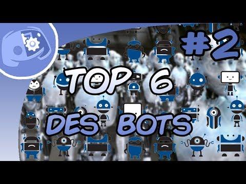 Discord | TOP 6 des BOTS  #2