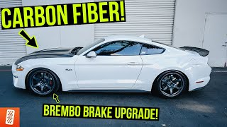 Building and Heavily Modifying a 2020 Ford Mustang GT: Part 4: Brembo Brakes & Anderson Composites