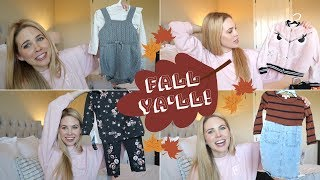 FALL 2018 TODDLER & BABY CLOTHING HAUL