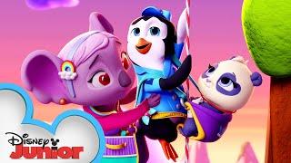 Download Delivering Precious the Panda! 🐼 | National Panda Bear Day | T.O.T.S. | Disney Junior