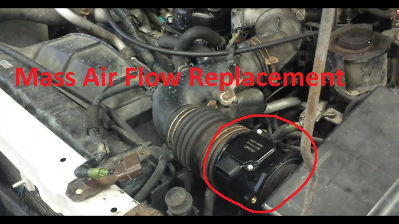 maxresdefault how to replace a mass air flow sensor on an infiniti qx4 youtube GM 3-Pin MAF Wiring at edmiracle.co