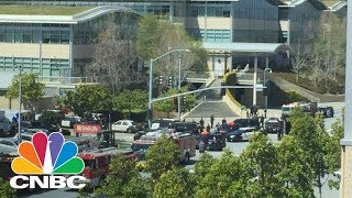 Police Respond To Active Shooter Reports At YouTube HQ - April 3, 2018 | CNBC