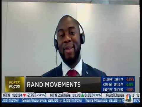 Rand bruised by global geopolitical risks [CNBC Africa interview with Lukman Otunuga | 08.08.19]