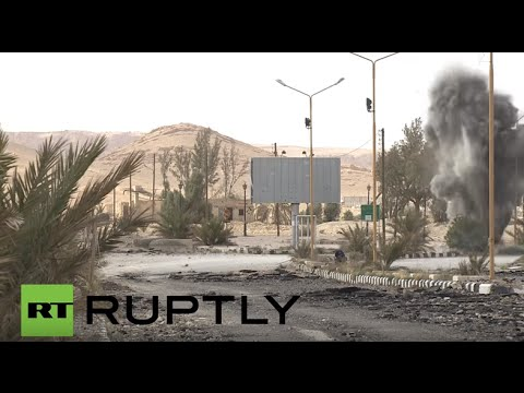 Syria: Russian sappers detonate Palmyra mines ahead of reconstruction