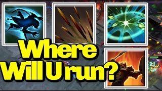How To Outrun!![Shukuchi+Quill Spray+Arena Of Blood] || Ability Draft || Dota 2