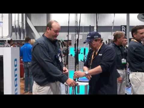 Shimano Tallus Fishing Rod At ICAST 2013