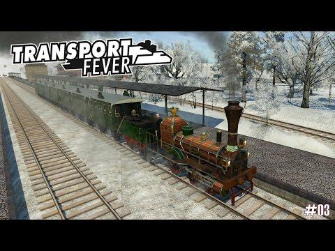 Transport Fever #03 ★ Der Jahrhundertwinter ist da ★ Deutschland I 1860 [Deutsch/HD]