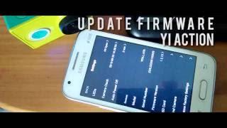 Cara Update Firmware Manual Xiaomi Yi Action