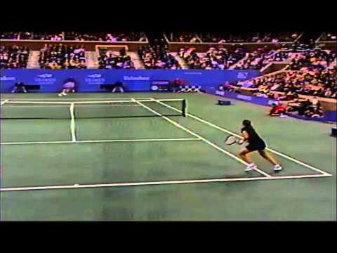 Monica Seles Vs Martina Hingis 1998 US Open Quarterfinals