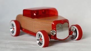 Automoblox Hot Rod Hr1 Wooden Car Toys Машинки для детей
