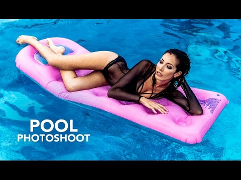 Natural Light Photoshoot with my 24-70 at the Pool