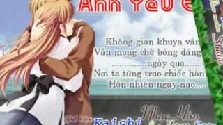 Mưa biết anh yêu em - kaishi .wmv