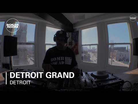 Detroit Grand Pubahs Boiler Room Detroit DJ Set