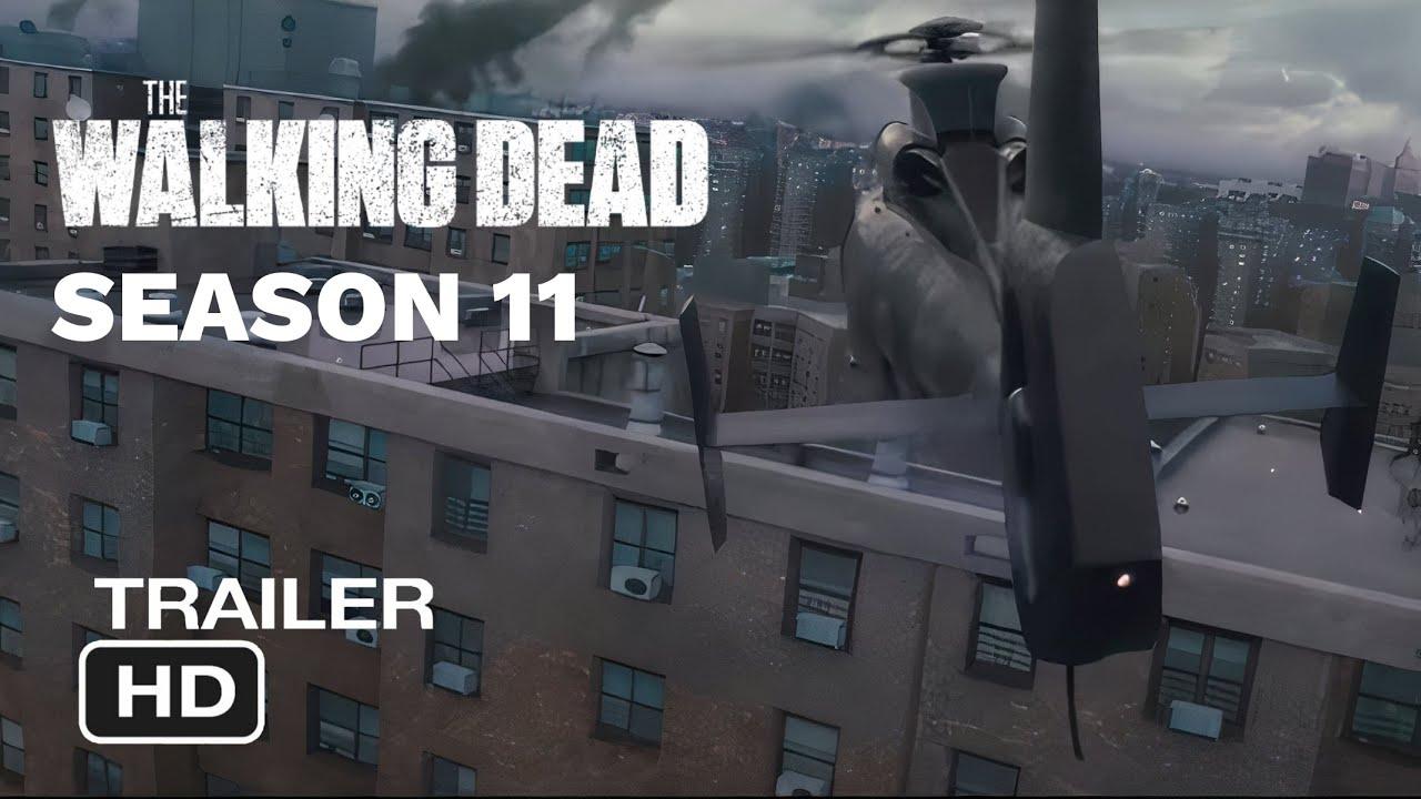 Download The Walking Dead - Season 11 Trailer (2021) - concept