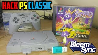 How To Hack PS1 Classic! Install BleemSync 1.2.0! FRESH INSTALL!