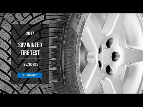 2017 Winter Tire Test Results 195 65 R15 Youtube