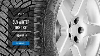 2017 Winter Tire Test Results | 195/65 R15