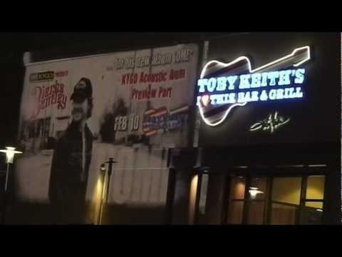 Projection Media for Denver's KYGO and Dierks Bentley at Toby Keith's