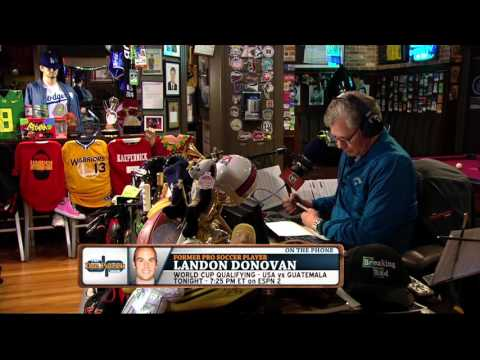 Landon Donovan on The Dan Patrick Show (Full Interview) 03/29/2016