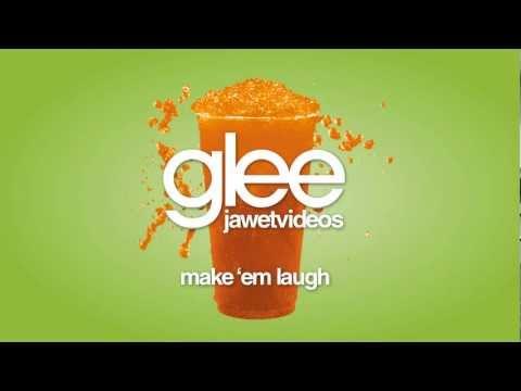 Glee Cast - Make 'Em Laugh (karaoke version)