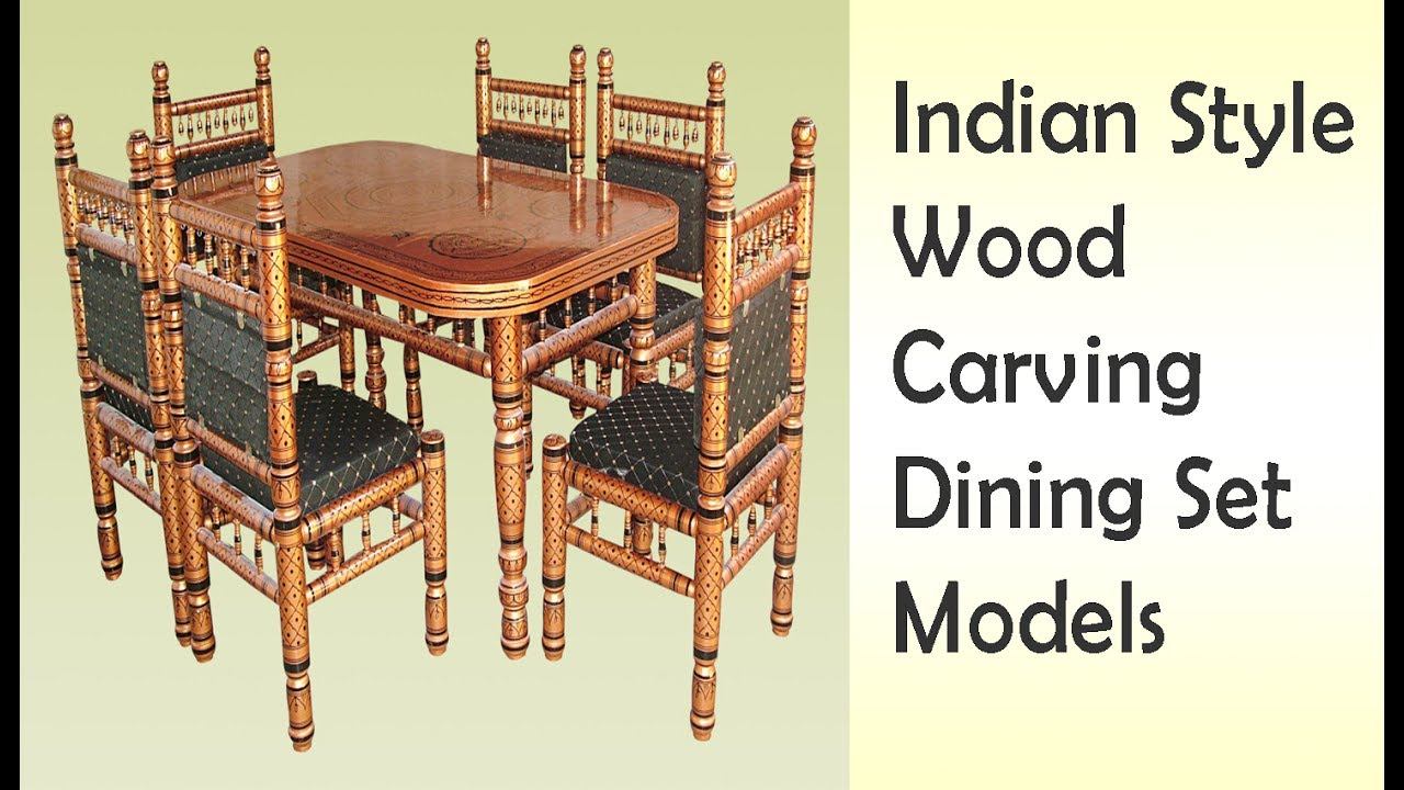Indian style wooden carving dining table sets world best for World best dining tables