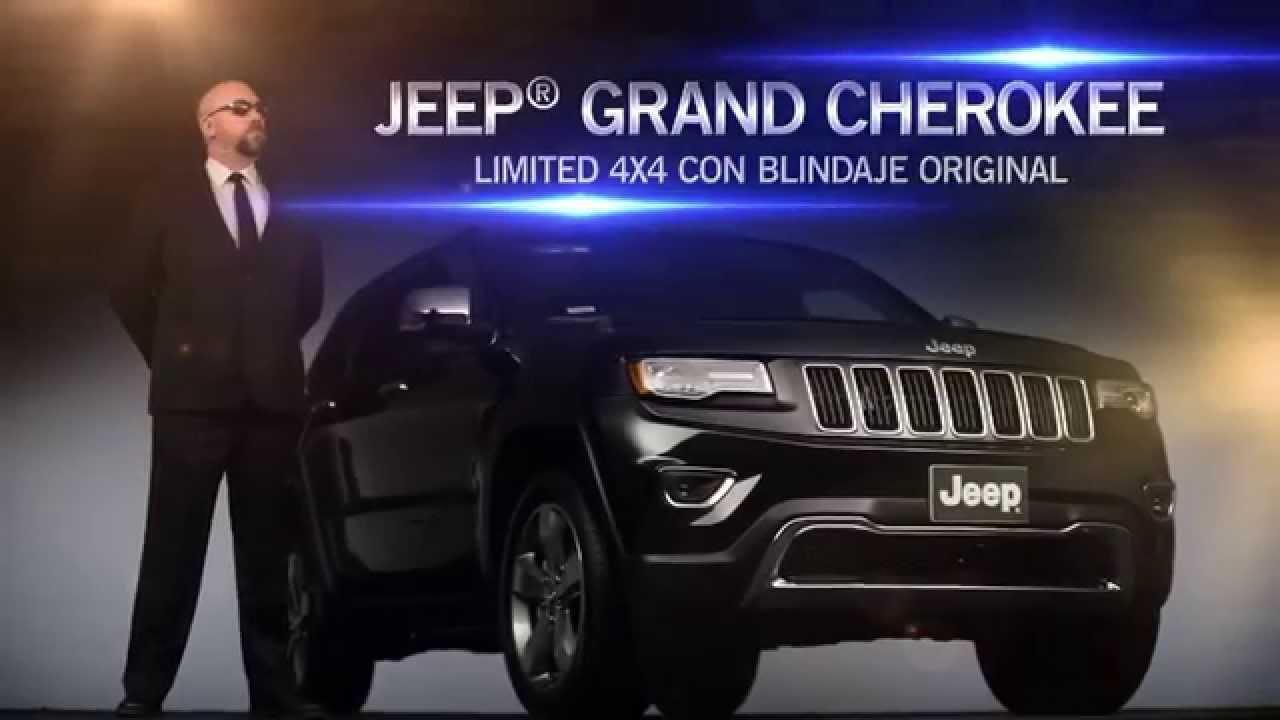 Jeep Grand Cherokee blindada - YouTube
