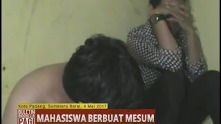 Mahasiswa Berbuat Mesum Di Kamar Kos Digrebek Warga - BIP 05/05