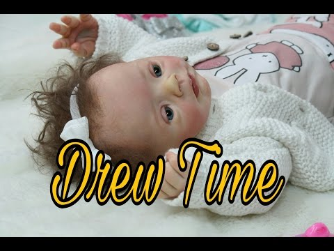 FIRST CHANGING FOR DOWN SYNDROME REBORN BABY DOLL! STOP…