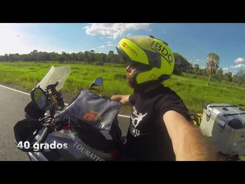 El Chaco Paraguayo en moto. Diario de un Nómada