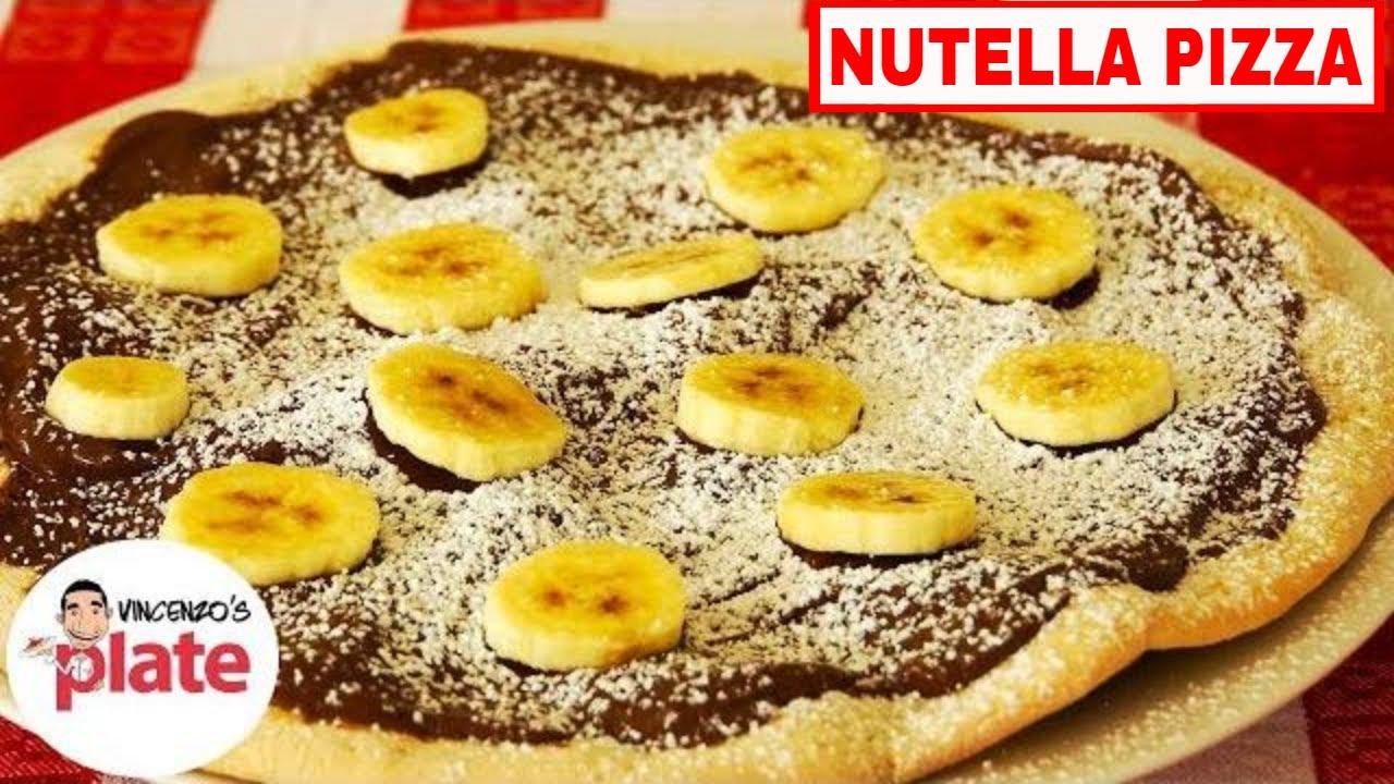 nutella pizza recept