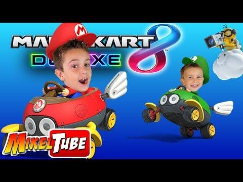 Mikel VS. Leo en Mario Kart 8 Deluxe