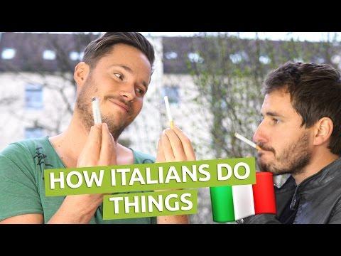 How Italians Do Things