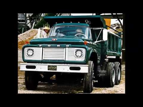 Old Ford Dump Trucks