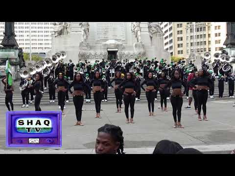 """Kentucky State University Marching Band    """"Let's Stay Together"""""""