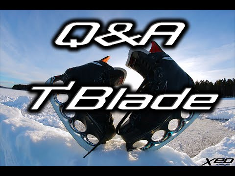 Q&A T'BLADE & How To Customize T-Blades | Freestyle Ice Skating