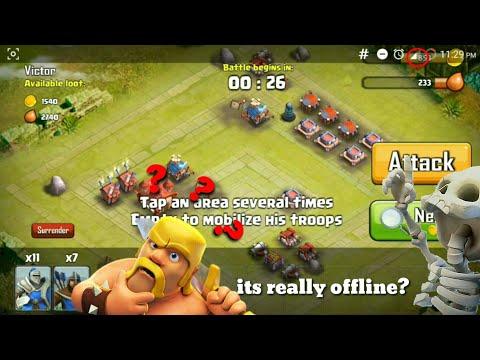 Clash Of Clans Offline Version 2019