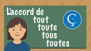 L'accord de tout, toute, tous, toutes en français