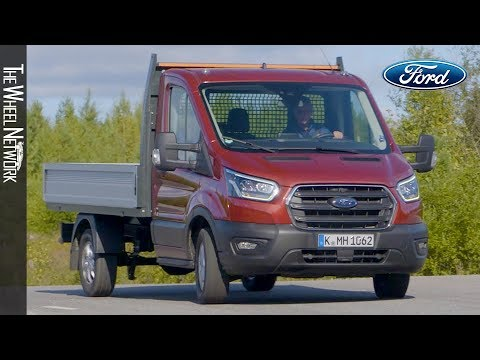 2020-ford-transit-chassis-cab-hybrid-|-driving,-interior,-exterior