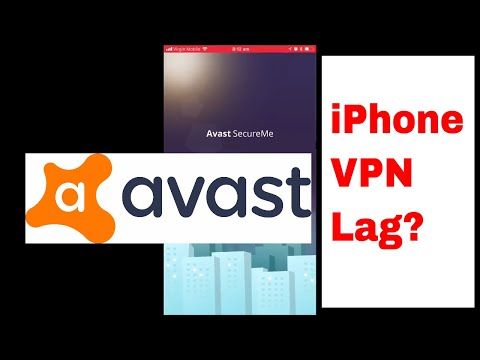 Free Avast Secure Me VPN IPhone Test