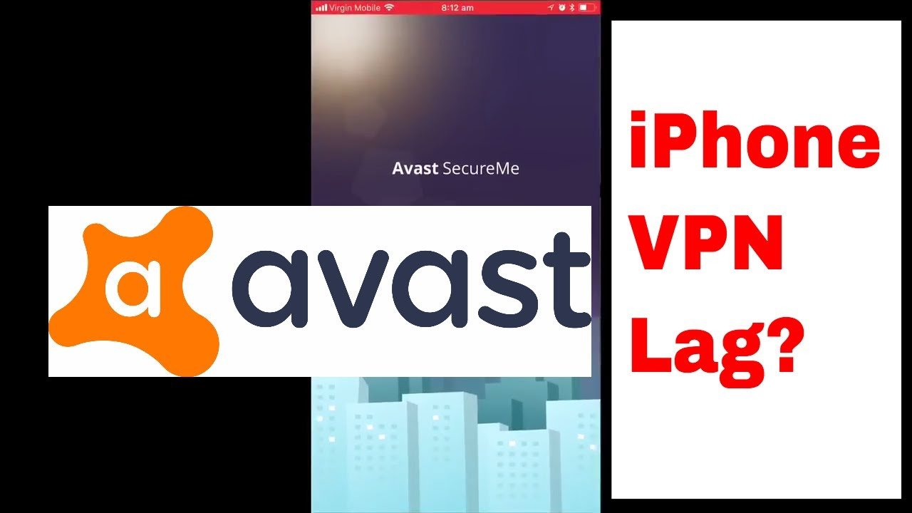 Free Avast Secure Me VPN iPhone Test