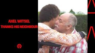 Axel Witsel remercie Jouve !