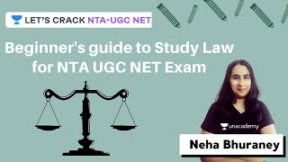 Beginner 39 s guide to Study Law for NTA UGC NET Exam Law Paper 2 NTA-UGC NET Neha Bhuraney