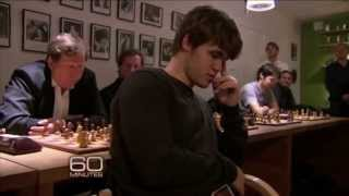 Mozart of Chess Magnus Carlsen - Wins 10 people at the same time in blind