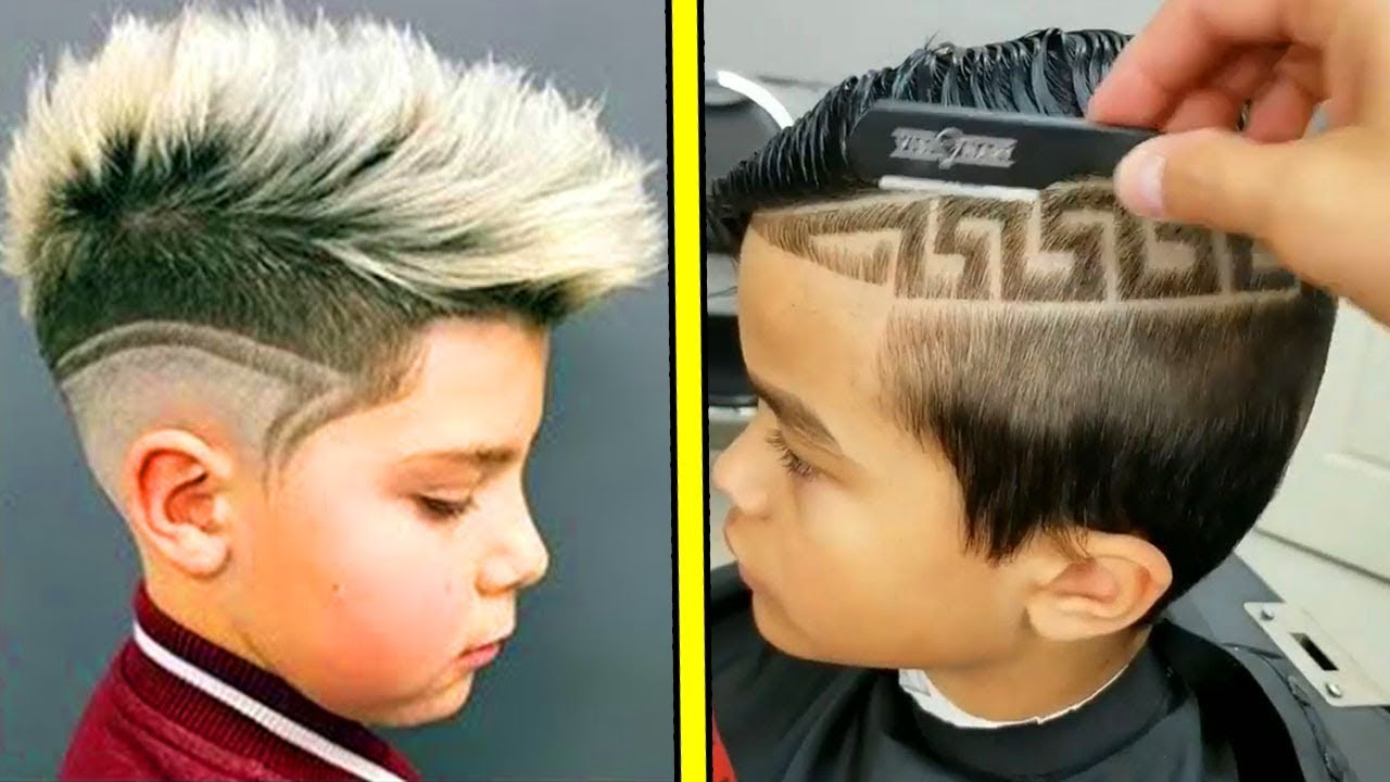 Les Meilleurs Coiffures D Enfants Best Kids Haircuts By Best Barbers In The World Youtube