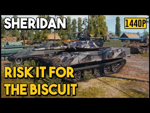 Sheridan - 16.2k Assists - World of Tanks