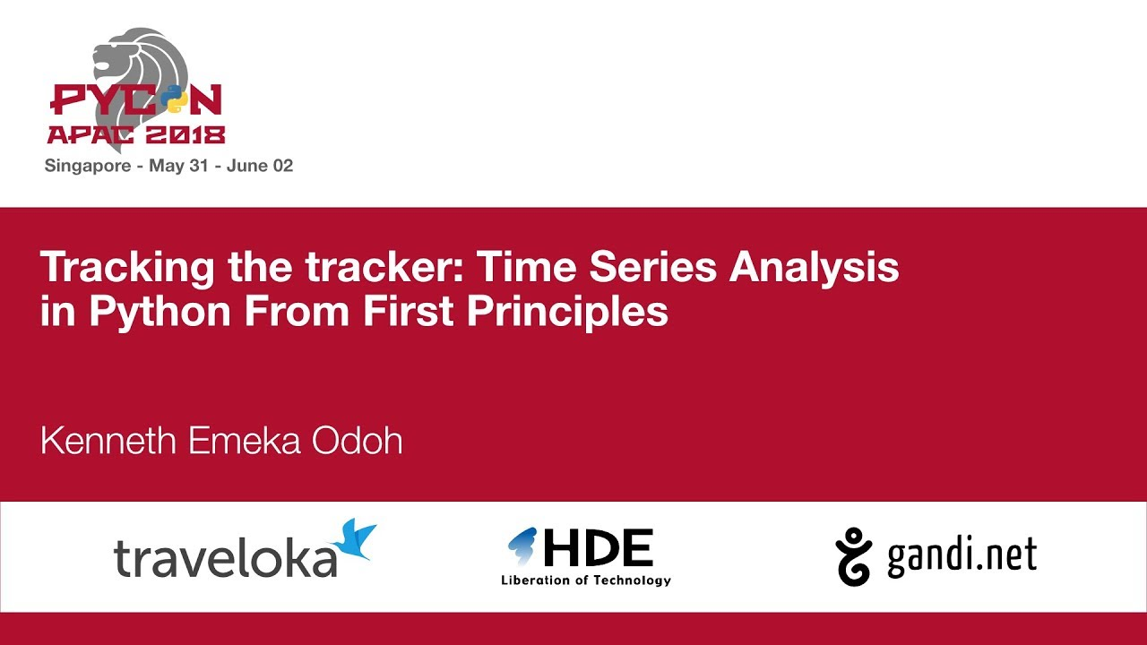 Image from Tracking the tracker: Time Series Analysis in Python From First Principles