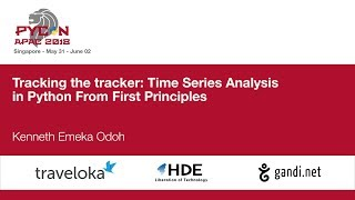 Tracking the tracker: Time Series Analysis in Python From First Principles - PyCon APAC 2018