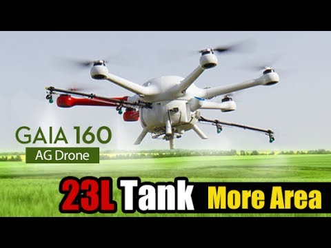 Agriculture Drone丨GAIA 160-AG 23 L Tank 丨heavy Lift Hexacopter
